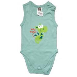 """Sommer body med grønn """"baby..."""