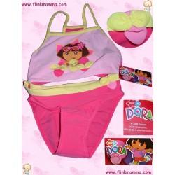 Badesett i 2 deler - rosa Dora